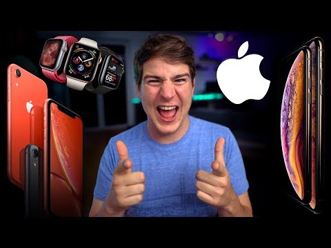 Erster Eindruck: iPhone XS, XS Max, XR & Apple Watch Series 4! - felixba