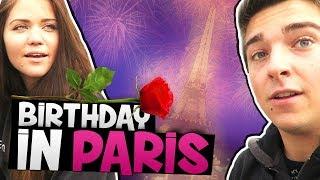 CELEBRATING HER BIRTHDAY IN PARIS!