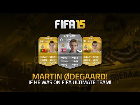 IF ØDEGAARD WAS ON FIFA ULTIMATE TEAM! | FIFA 15 Ultimate Team