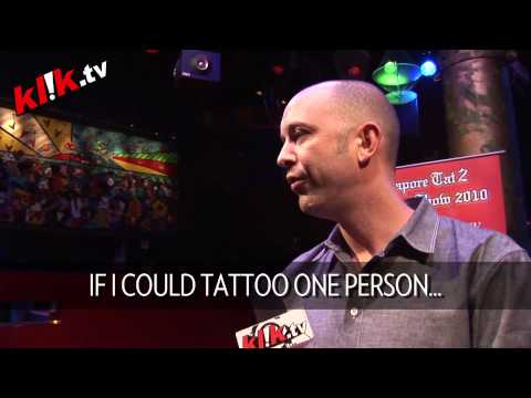 Get a tattoo from one of the world's most famous (and best) tattoo artist,