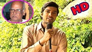 Allari Naresh Condolence to Late Sri Bapu