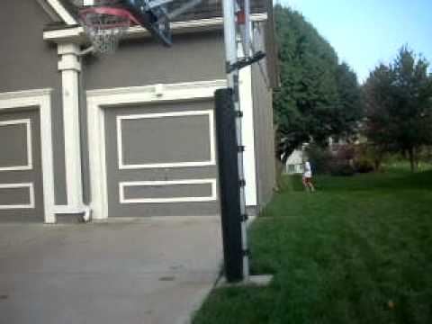 No Limit Trick Shots: Basketball Shot over House #1