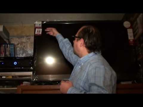 LG CINEMA 3D SMART TV LED FULL HD UNBOXING