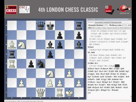 0 - Chess Video | Vladimir Kramnik - Luke McShane London Chess Classic 2012 Round 5 - Chess & Mind Games