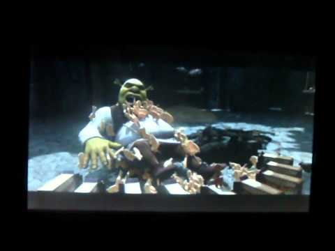 Shrek 4 deleted Scene