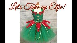 Elf Tutu Dress DIY | Holiday Tutu Dress Tutorial