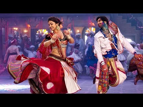 Ram-Leela song Lahu munh lag gaya making: Deepika and Ranveer...