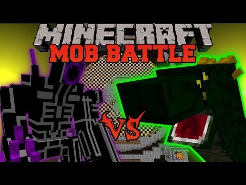 Robo Warrior Vs Basilisk - Minecraft Mob Battles - Orespawn Mod Battle video