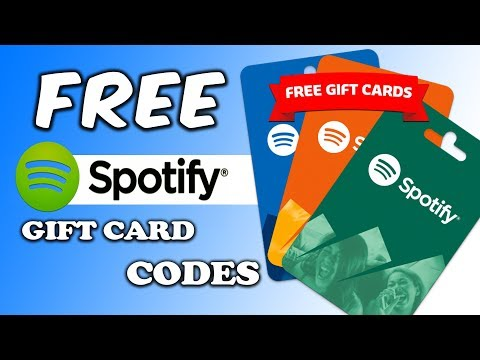 Spotify Gift Card Codes - Redeem Spotify Gift Card - How to Get Spotify Gift Card