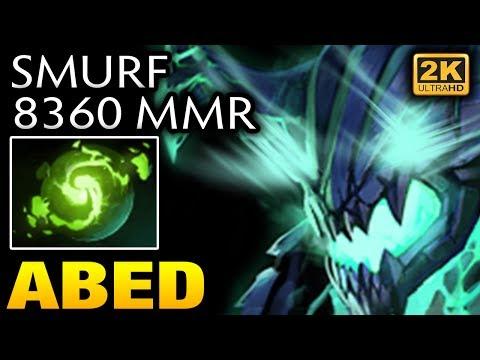 Abed Smurf account mmr is 8360 Already  [Outworld Devourer] Dota 2