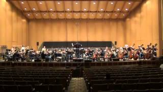 my World Baseball Classic theme recording session with the Oakland Symphony