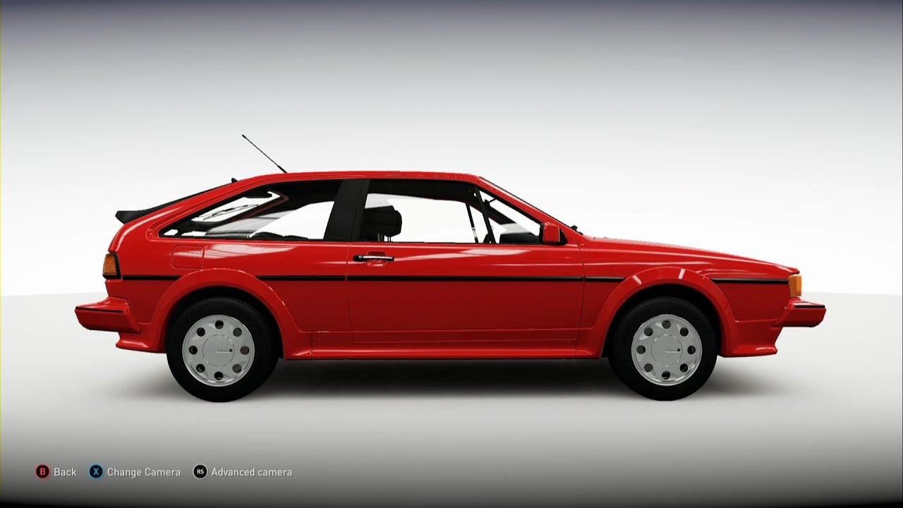 Forza Horizon 2 1988 Volkswagen Scirocco 16v Youtube