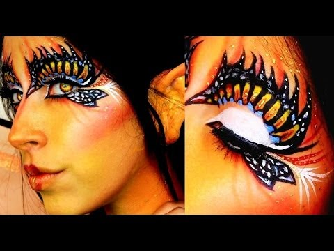 ▶ Halloween Makeup Butterfly