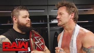 "Kevin Owens and Chris Jericho plan their ""Festival of Friendship"" in Las Vegas: Raw, Feb. 6, 2017"