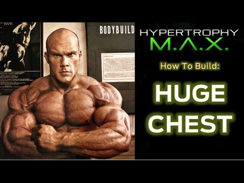 How To Build A Huge Chest In 1 Workout (intra-set Stretching Chest Workout) video
