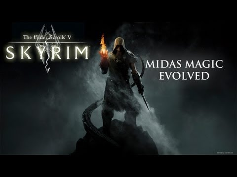 TES V Skyrim Mods: Midas Magic Evolved