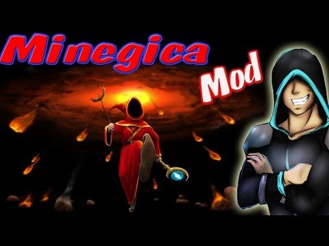 Разрушительная Магия! Обзор Мода Minecraft! (Minegica! 2) №71