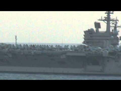 USS GEORGE H.W. BUSH (CVN-77) en Cartagena (España)