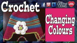 How to Crochet: Change Color Without Knots