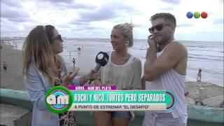 Tacho y Rocío Igarzábal, separados y amigos - AM