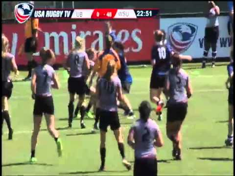 2013 Emirates Airline USA Rugby Women's College Championship - UBvWSU