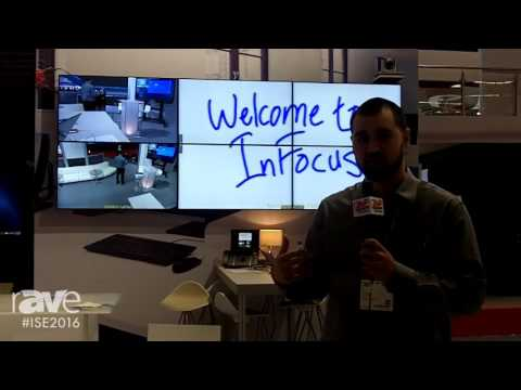 ISE 2016: InFocus Highlights ConX Wall Solution