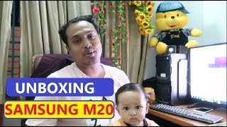 Best UNBOXING Samsung Galaxy M20 Smart Mobile Phone With Hridoy Vlogs Top Video 2019