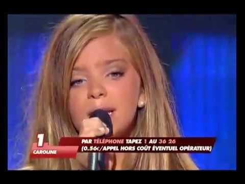 Incroyable talent 2008 Caroline Costa 12 ANS ---- TITANIC ----Jeune