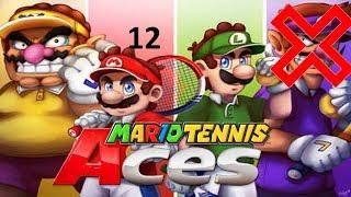 Pilz und Blumen Cup mit Luigi und Wario  Mario Tennis Aces #12