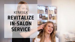 Kerasilk Revitalize In-Salon Service | Kerasilk | Goldwell Education Plus