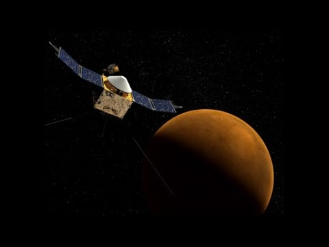 After ten months of travel, NASA\'s Maven spacecraft is set to orbit Mars and collect data. Chad Myers explains.