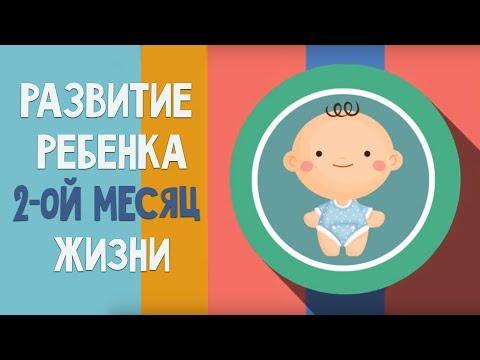 Второй месяц жизни. Календарь развития ребенка