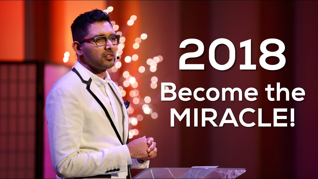 In 2018, become the miracle - Pastor Shyju Mathew