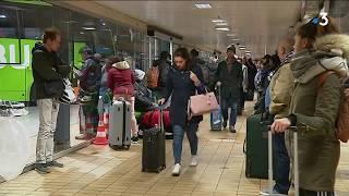 Lyon: Rush sur les autocars suite à la grève SNCF
