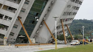 Scary Earthquake Footage Compilation From Around The World