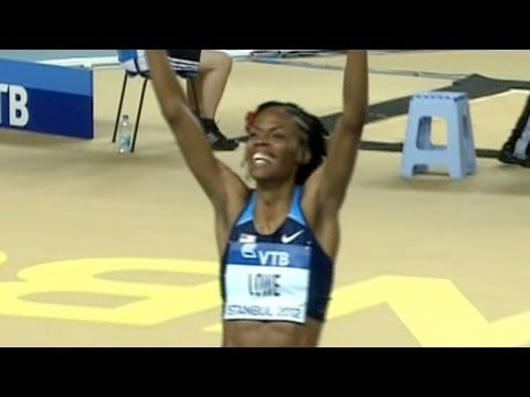 W High Jump (Chaunte Lowe becomes High Jump World Indoor Champ 2012)