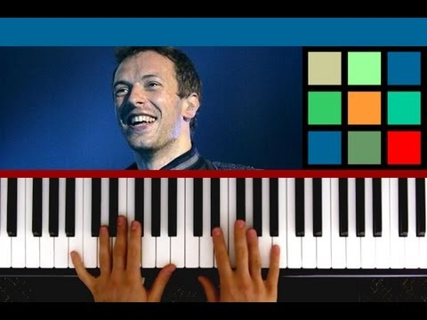 How To Play Paradise Piano Tutorial (Coldplay)