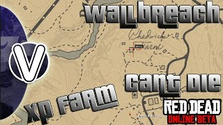 RED DEAD REDEMPTION 2 ONLINE | Solo Wall Breach In Valentine *XP Grinding Location* (RDR2 ONLINE)