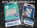 2019 GMC Sierra Duramax AT4 (Installing 921W LED Reverse LED Bulbs) MUST WATCH