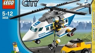 LEGO 3658 Police Helicopter City Police  (Instruction booklet)