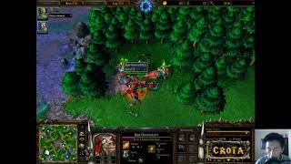Lyn (Orc) vs Moon (NE) - WarCraft 3 - WC1908 - Twisted Meadows
