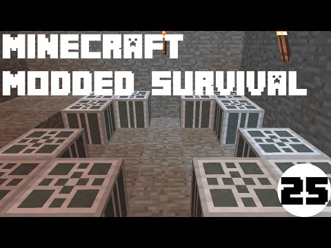 Minecraft Modded Survival | (Actually) Making the fuel cores! | #25