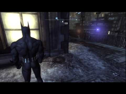 Batman Arkham City - Batman Beyond Skin Side Missions 4 (Saving Nora)(Ending Spoilers)