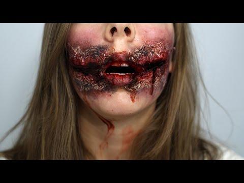 Maquillage Effets spéciaux - Bouche arrachée