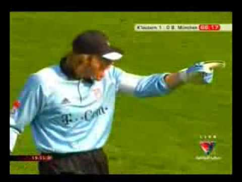 Oliver Kahn angry