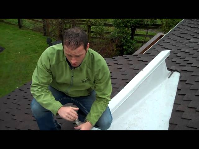 Woodinville Roof Contractor Pro Roofing Tip - How Fix a Dead Valley with PVC membrane