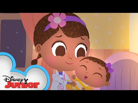 Rock-a-bye Baby 🍼  | 🎼  Disney Junior Music Nursery Rhymes | Disney Junior