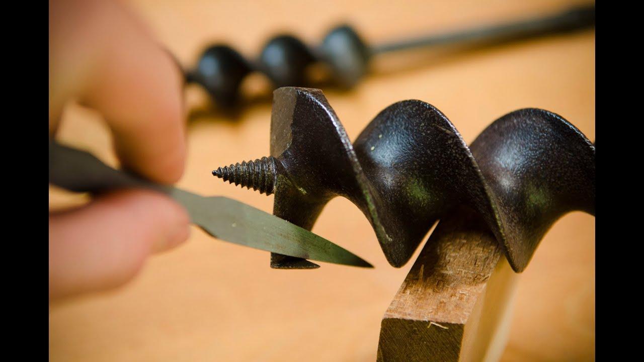 how to choose sharpen augers auger bits youtube. Black Bedroom Furniture Sets. Home Design Ideas