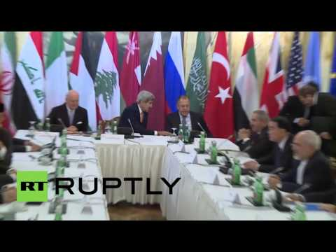Austria: Leading roles for Kerry and Lavrov as Syria talks begin in Vienna