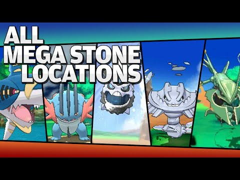 All Pokemon X and Y Mega Stones Locations [So Far]